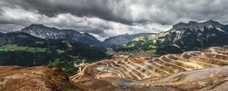 site géologique mine minéraux
