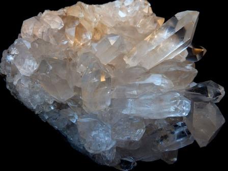quartz cristal pureté qualité