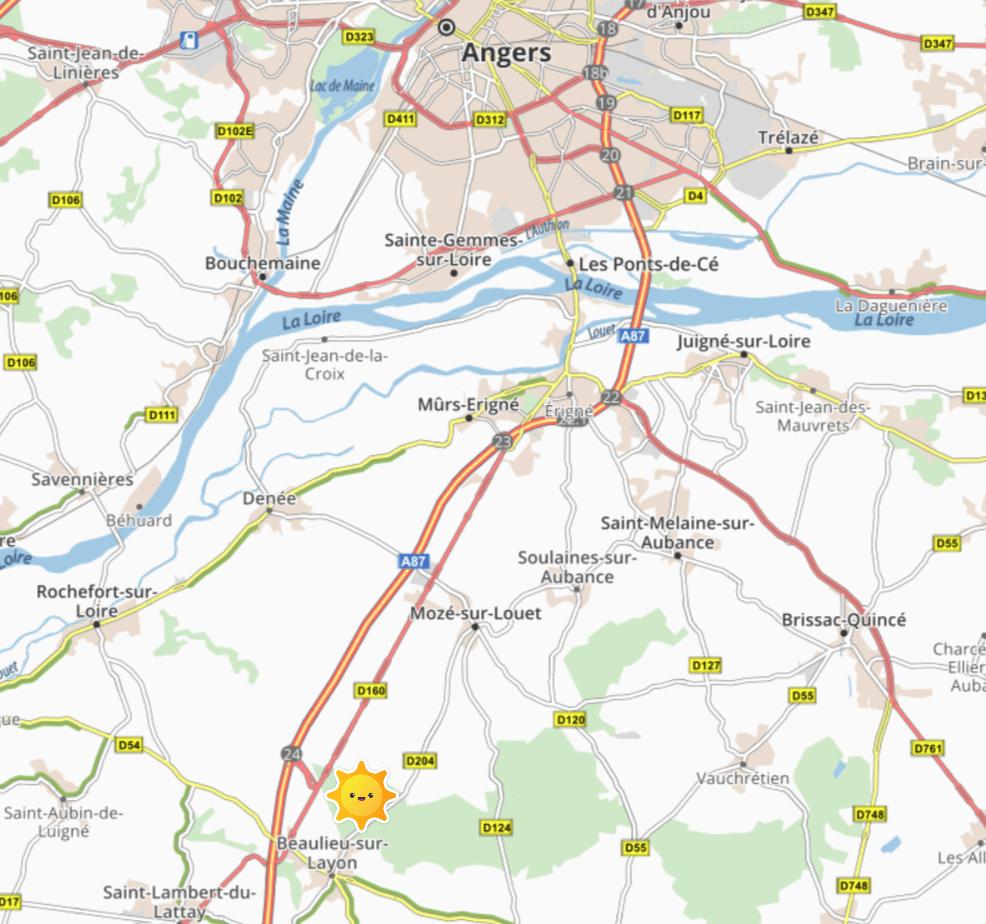 Plan situation géographique